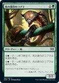 【JPN】★Foil★死の頭巾のコブラ/Death-Hood Cobra[MTG_2XM_163C]