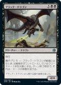 【JPN】ブラック・ドラゴン/Black Dragon[MTG_AFR_090U]