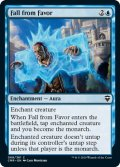 【ENG】★Foil★失墜/Fall from Favor[MTG_CMR_068C]