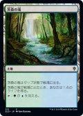 【JPN】茨森の滝/Thornwood Falls[MTG_ELD_313C]