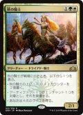 【JPN】秋の騎士/Knight of Autumn[MTG_GRN_183R]