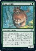 【JPN】★Foil★溌剌とした狼熊/Exuberant Wolfbear[MTG_IKO_151U]
