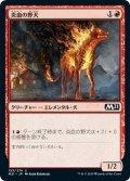【JPN】炎血の野犬/Igneous Cur[MTG_M21_153C]