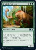 【JPN】打ち壊すブロントドン/Thrashing Brontodon[MTG_M21_209U]