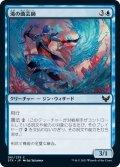 【JPN】滝の曲芸師/Waterfall Aerialist[MTG_STX_061C]