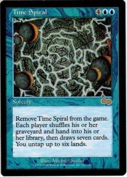 画像1: 【ENG-EX-】時のらせん/Time Spiral[MTG_USG_103R]